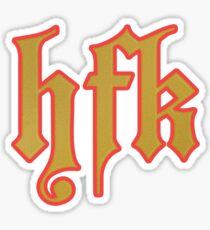 hfk Sticker