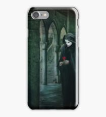 Venice, Carnival memories, masked man with rose iPhone Case/Skin