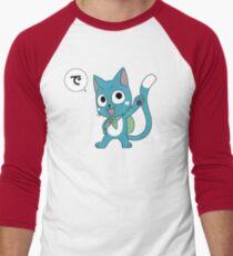 Happy Tail Men's Baseball ¾ T-Shirt