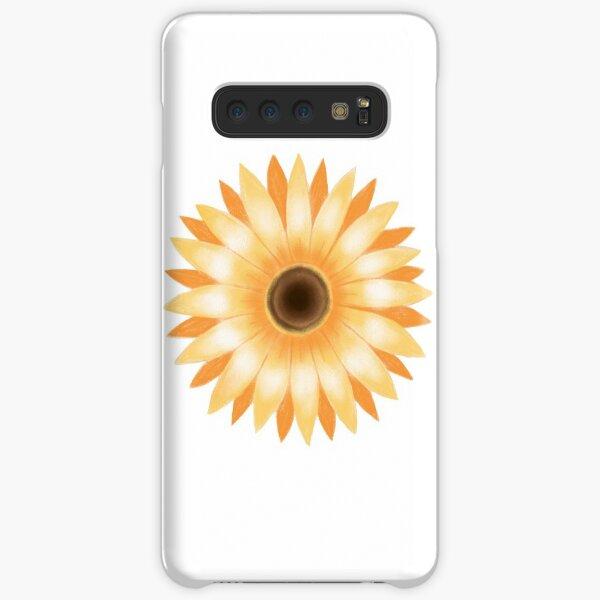 Golden Flower Samsung Galaxy Snap Case