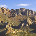 Chisos Mountains Afternoon, Texas by Tamas Bakos
