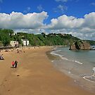 North Beach, Tenby by RedHillDigital
