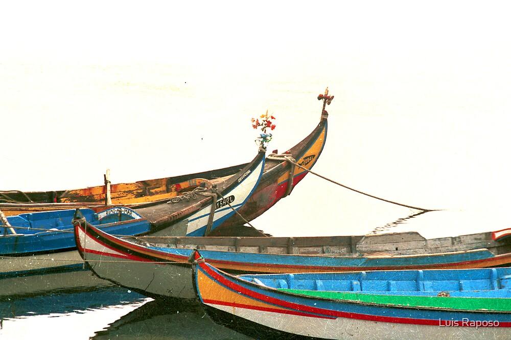 Barcos na Ria by Luis Raposo