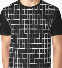 Black and white lines 2 Graphic T-Shirt