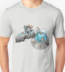 Rick and Morty/Back to the future Unisex T-Shirt