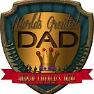 World's Greatest Dad | Father's Day  by Cherie Balowski