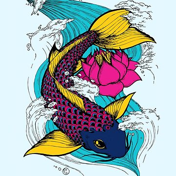 Koi Lotus by forthemakaron