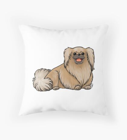 Pekingese Throw Pillow