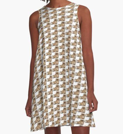 Pekingese A-Line Dress