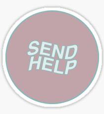 Send Help Sticker