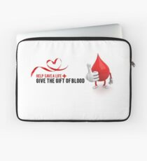 World Blood Donor Day Laptop Sleeve