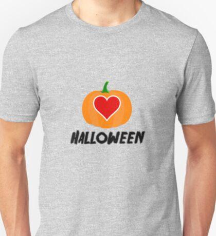 Love Halloween  (T-SHIRT & STICKER) T-Shirt