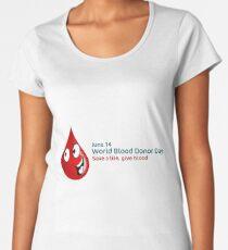 World Blood Donor Day Women's Premium T-Shirt