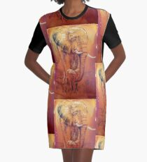 Protected Graphic T-Shirt Dress