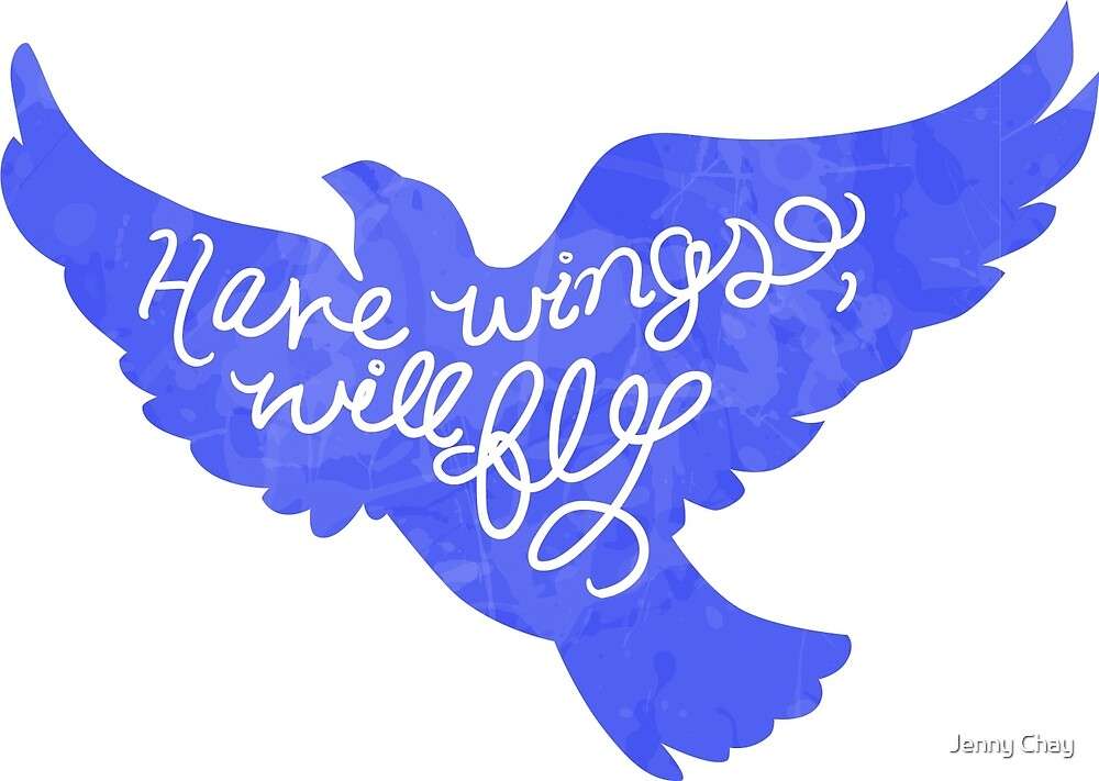 Have Wings, Will Fly by Jenny Chay