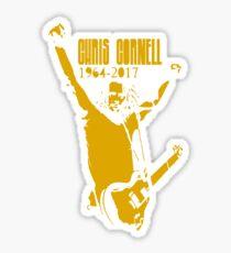 chris cornell rip 1964 - 2017 Sticker