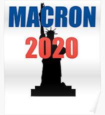 Macron 2020 Poster