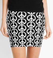 PEACE SIGN Mini Skirt