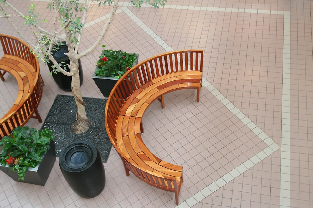 mall Bench by CJ McGilvray
