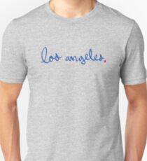 Los Angeles Cursive - City Scroll Unisex T-Shirt
