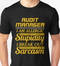 audit manager T-Shirt