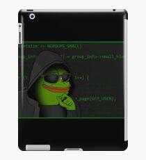 Hacker Pepe iPad Case/Skin
