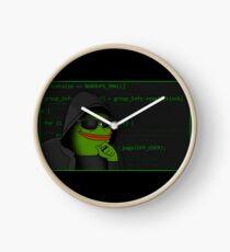 Hacker Pepe Clock