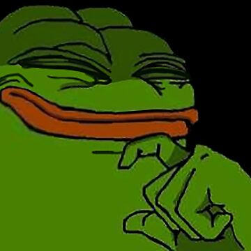 Happy Pepe by Weeev