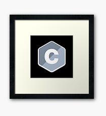 C Programing Language Framed Print