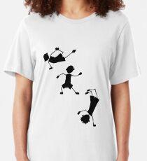 Three Little Breakers Slim Fit T-Shirt