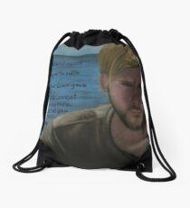 Charlie Pace Drawstring Bag