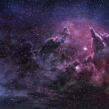 Purple Galaxy by Weeev