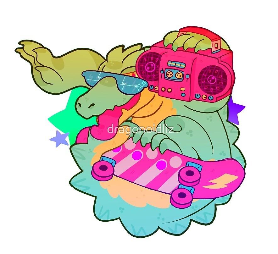 Sk8r Gator by dragonoidliz