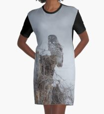 Gloomy Sunday  Graphic T-Shirt Dress
