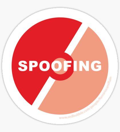 Team Valor Against Spoofing Sticker