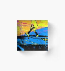 """Air Walking""  - Stunt Scooter Acrylic Block"