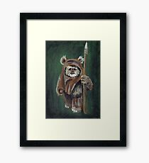 Wicket the Ewok Framed Print