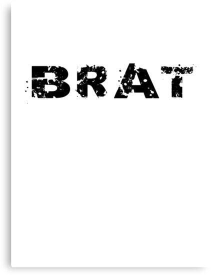 BRAT - Bad Boy - Bad Girl - T-Shirt & Top by deanworld