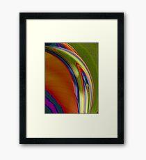 The Curve Framed Print