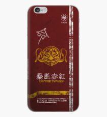 Crimson Typhoon Pit Crew Case iPhone Case