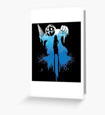 Bioshock Big Daddy Greeting Card