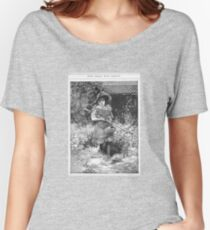 Polly in the garden Women's Relaxed Fit T-Shirt