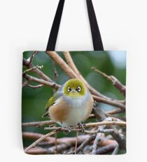 Aww...Don't Be Sad... We Will Be Back - Silver-Eye - NZ Tote Bag