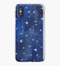 Star Watercolor Illustration iPhone Case