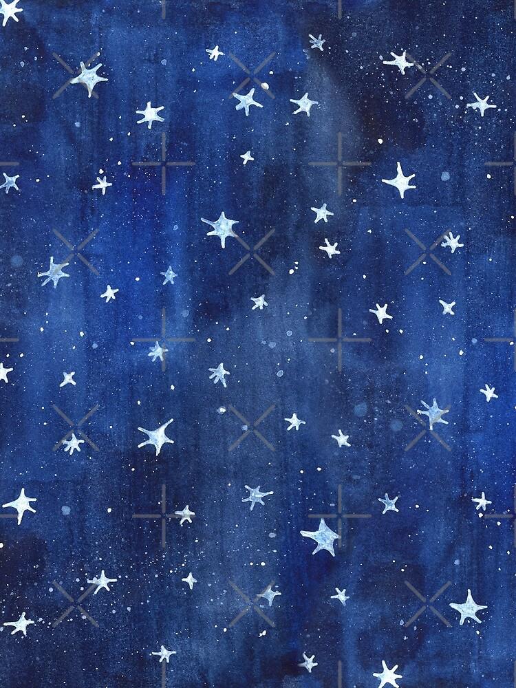 Stern-Aquarell-Illustration von Robayre