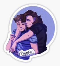 DEH- Connor and Evan  Sticker