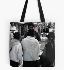 Market Browsers Tote Bag