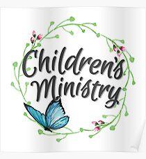 Children's Ministry Poster