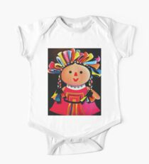 Mexican Maria Doll Black Kids Clothes