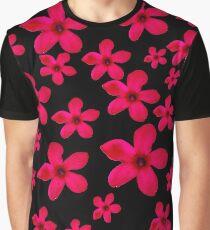 Hawaiian pink flower Graphic T-Shirt